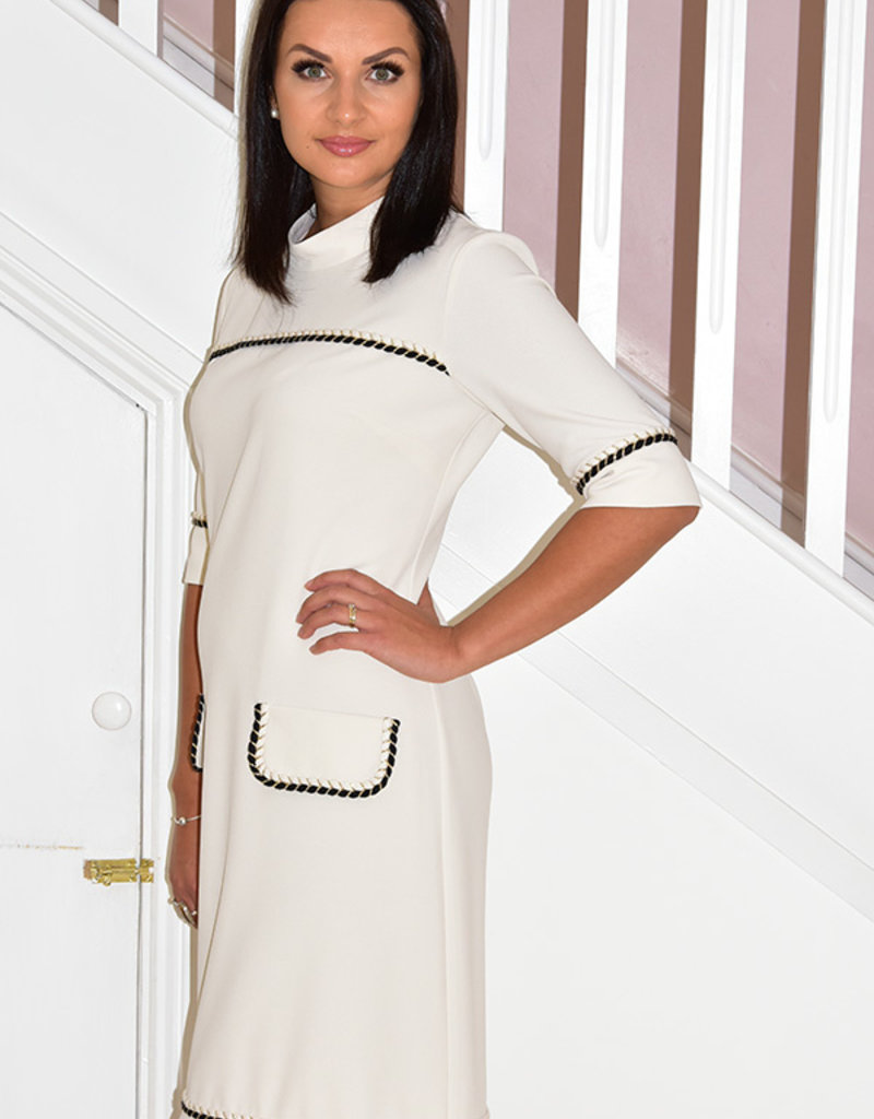 Camelot Dress With Pocket Effect