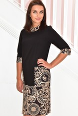 BELLENISA Printed Dress With Pockets