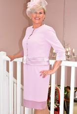 Carmen Melero Two Piece Dress & Jacket With Diamond Buttons