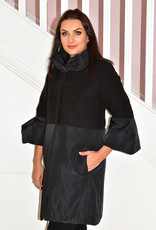 Camelot Coat With Puff Sleeves