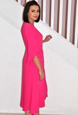 HEIDI HIGGINS Tina Pink Dress With