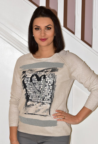 RABE Jumper With Love Heart Design