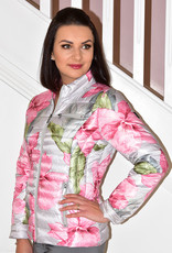 ETAGE Recycled Floral Print Puff Jacket