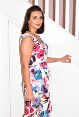 OLIMARA Peplum Floral Print Jumpsuit