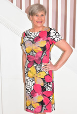 LIBRA Butterfly Multi Print Dress
