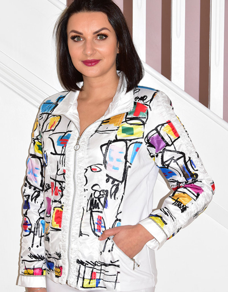 Dolcezza Dolcezza Multi Print Puff Jacket
