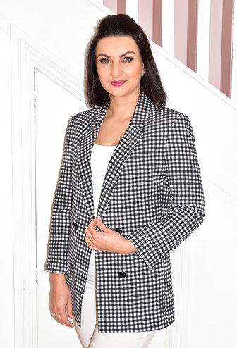 CLP Black & White Checked Blazer