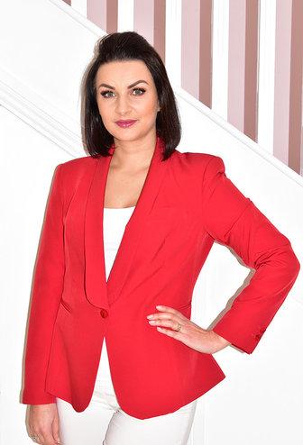CLP Red Tuxedo Jacket