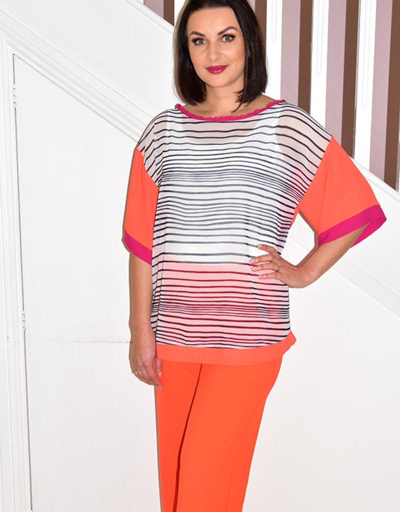 ARGGIDO 2 Piece Trouser & Top With Stripes