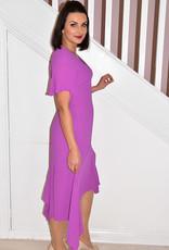 AIDEEN BODKIN Tau Magenta Dress