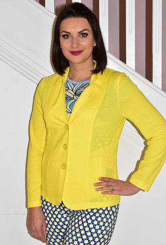RABE Yellow Jacket With Button