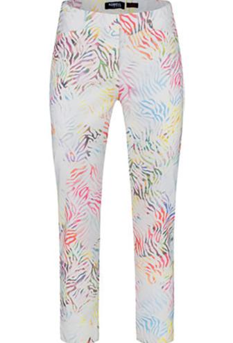 ROBELL Robell Rose 09 3/4 Length Multi Pattern Pants