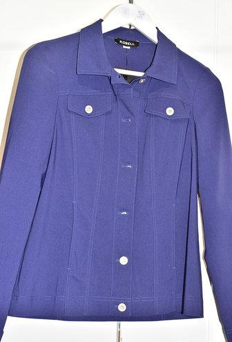ROBELL ''Happy'' Purple Denim Jacket