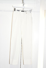"ROBELL Cream ""Bella"" 3/4 Length Stretchy Trouser"