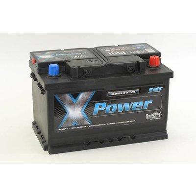 intAct X-70 startaccu