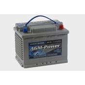 intAct AGM-Power 55 semitractie accu