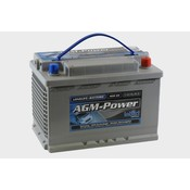 intAct AGM-Power 65 semitractie accu