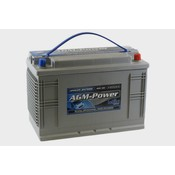 intAct AGM-Power 100 semitractie accu