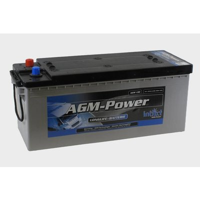 intact AGM-Power 130 semitractie accu