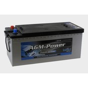 intAct AGM-Power 180 semitractie accu