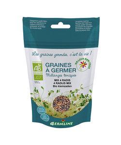 Graines à germer Germline mix 4 radis (100gr)