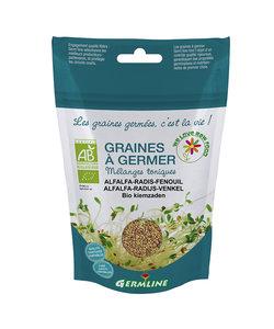 Graines à germer Germline alfalfa - radis - fenouil (150gr)