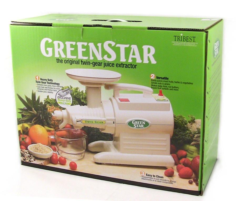 Tribest Extracteur de jus Green Star Classic GS2000