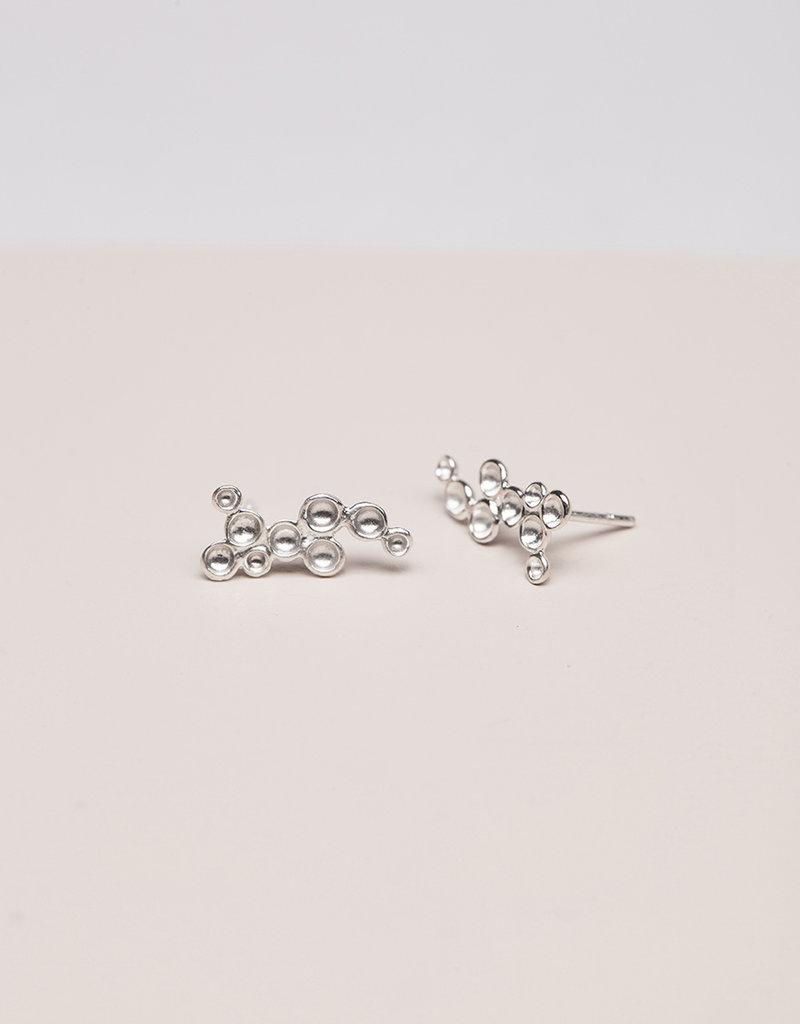 Post earrings tubs
