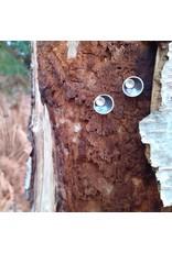 Post earrings eclips