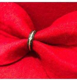 Ring Carbon Diamant