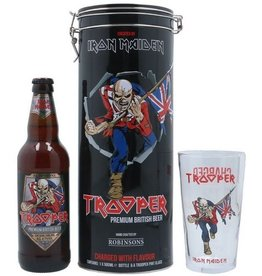 IRON MAIDEN TROOPER BLACK GIFT-TUBE 50 cl