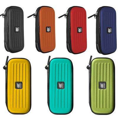 LIOOBO Pratica Custodia per Freccette Custodia per Freccette Portatile Custodia per Freccette Borsa per Freccette Contenitore per Freccette di Grande capacit/à per La Casa Allaperto Blu + Nero