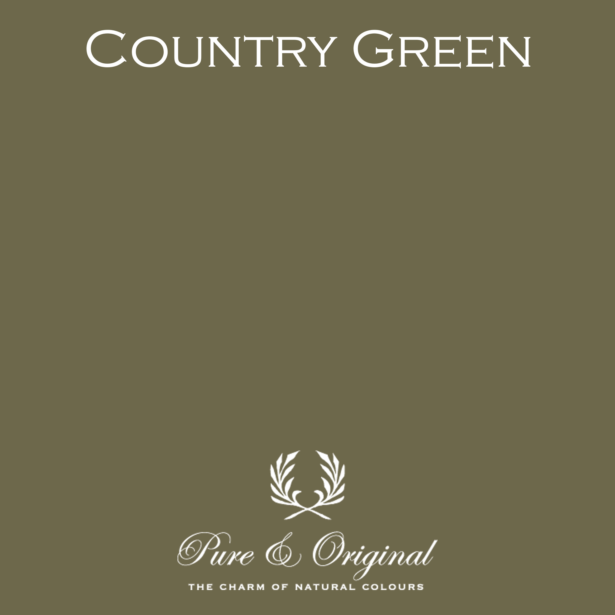 Country Green Kalkverf
