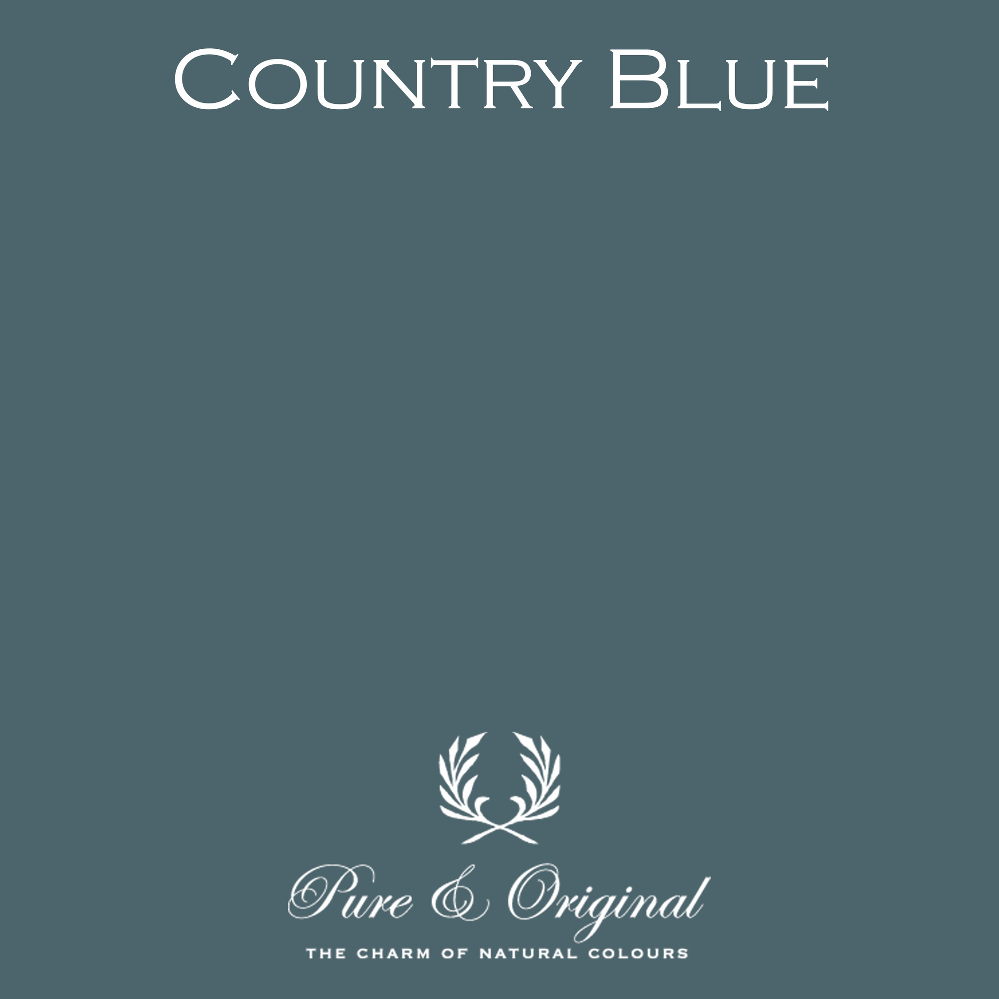 Country Blue Kalkverf