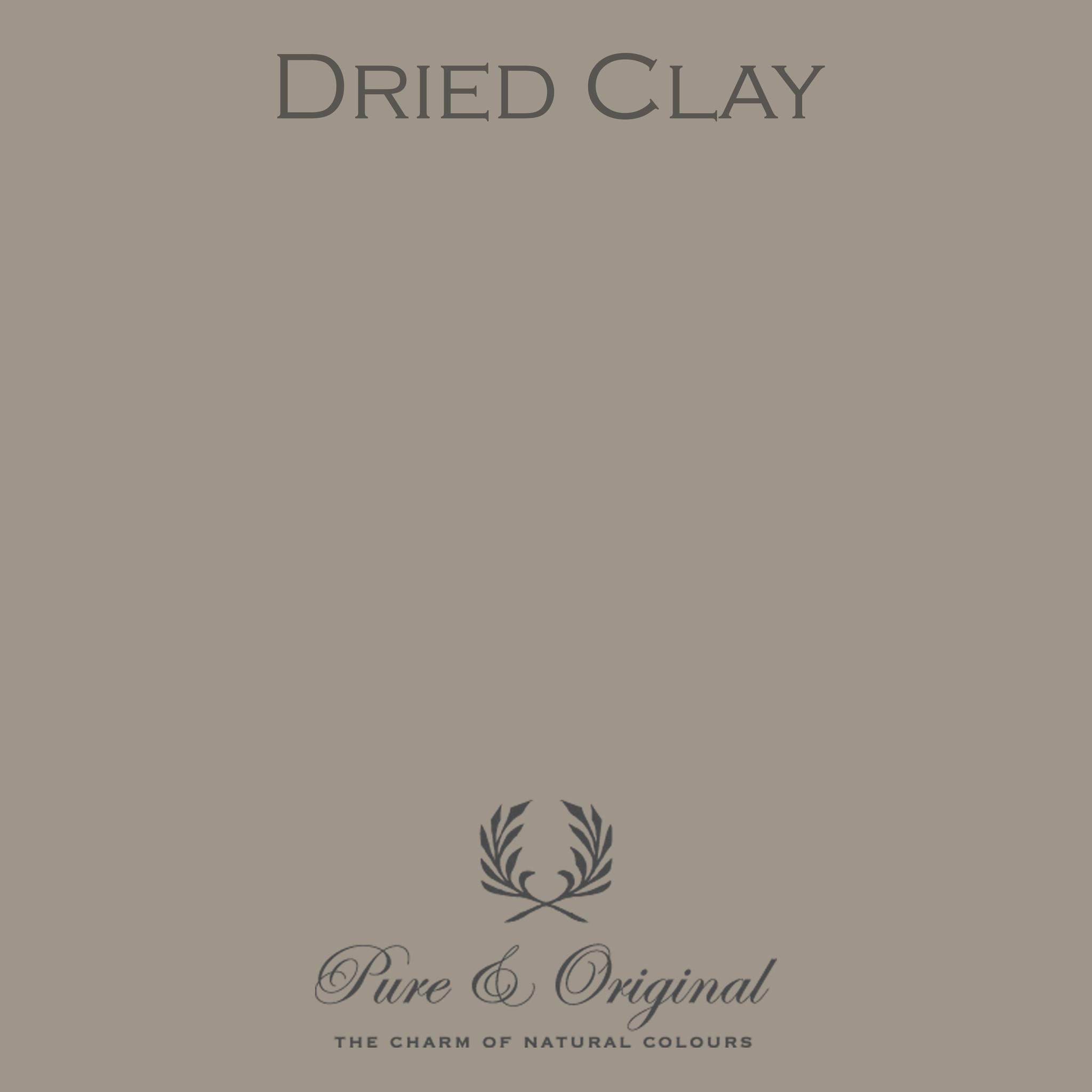 Dried Clay Kalkverf
