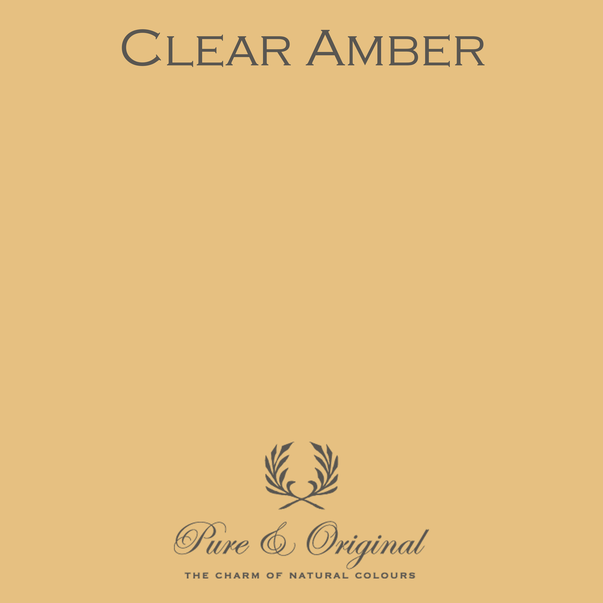 Clear Amber Kalkverf