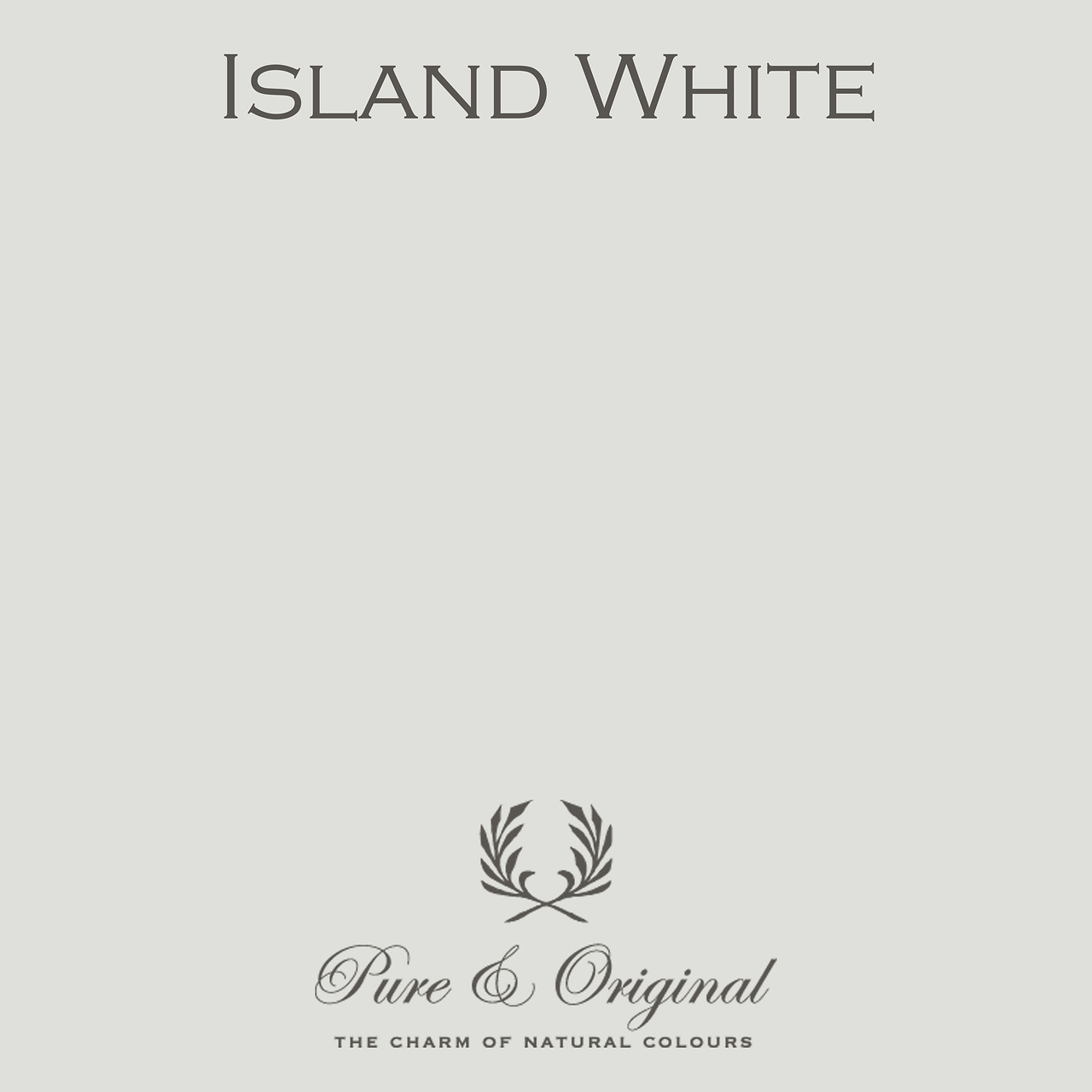 Island White Kalkverf