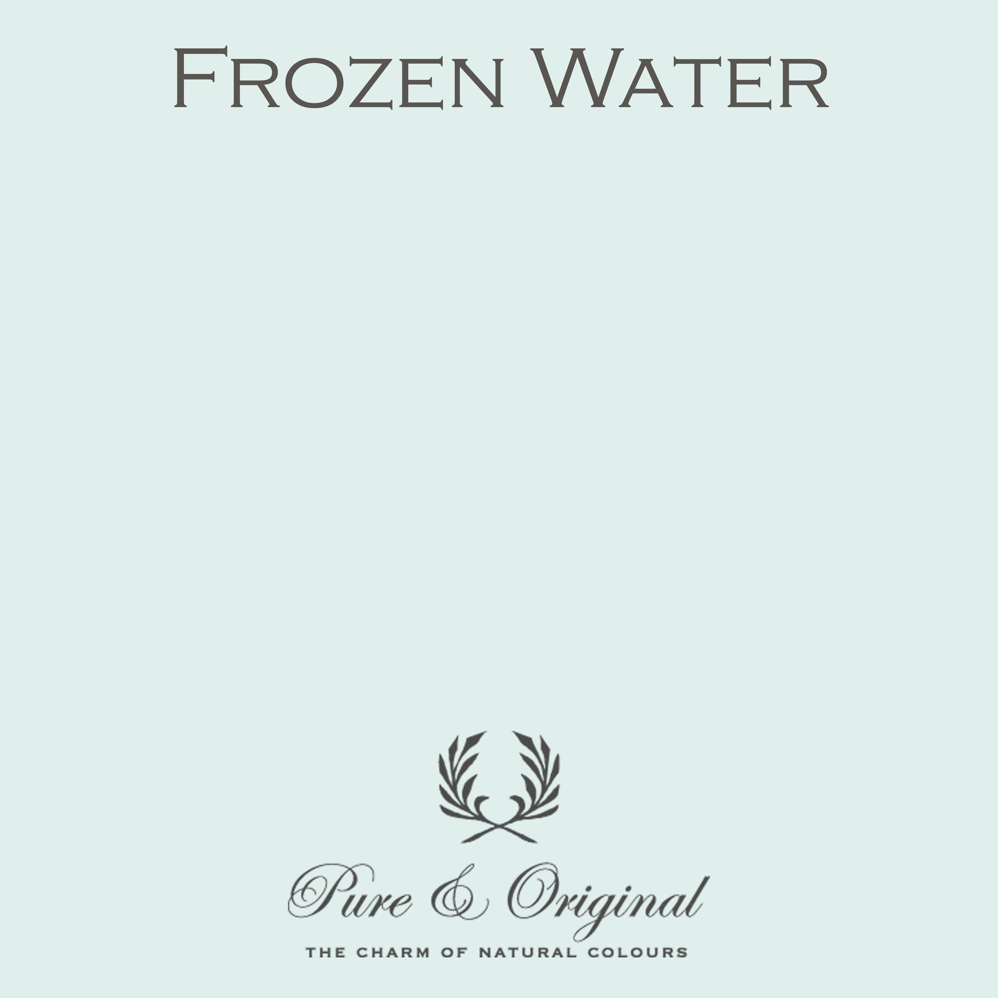 Frozen water Krijtverf