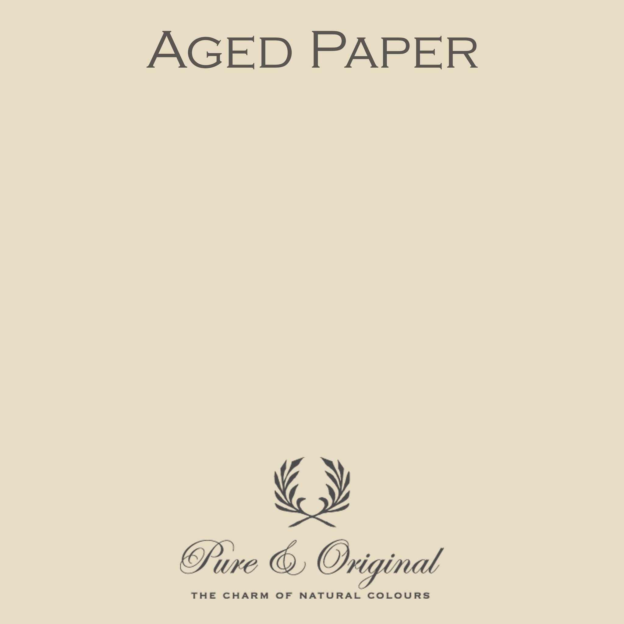 Aged Paper Krijtverf