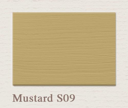 Muurverf Mustard