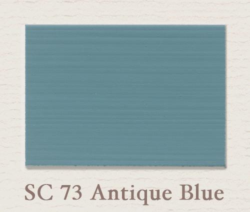 Eggshell/Matt Antique Blue
