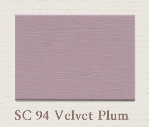 Eggshell/Matt Velvet Plum