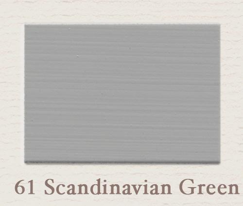 Eggshell/Matt Scandinavian Green