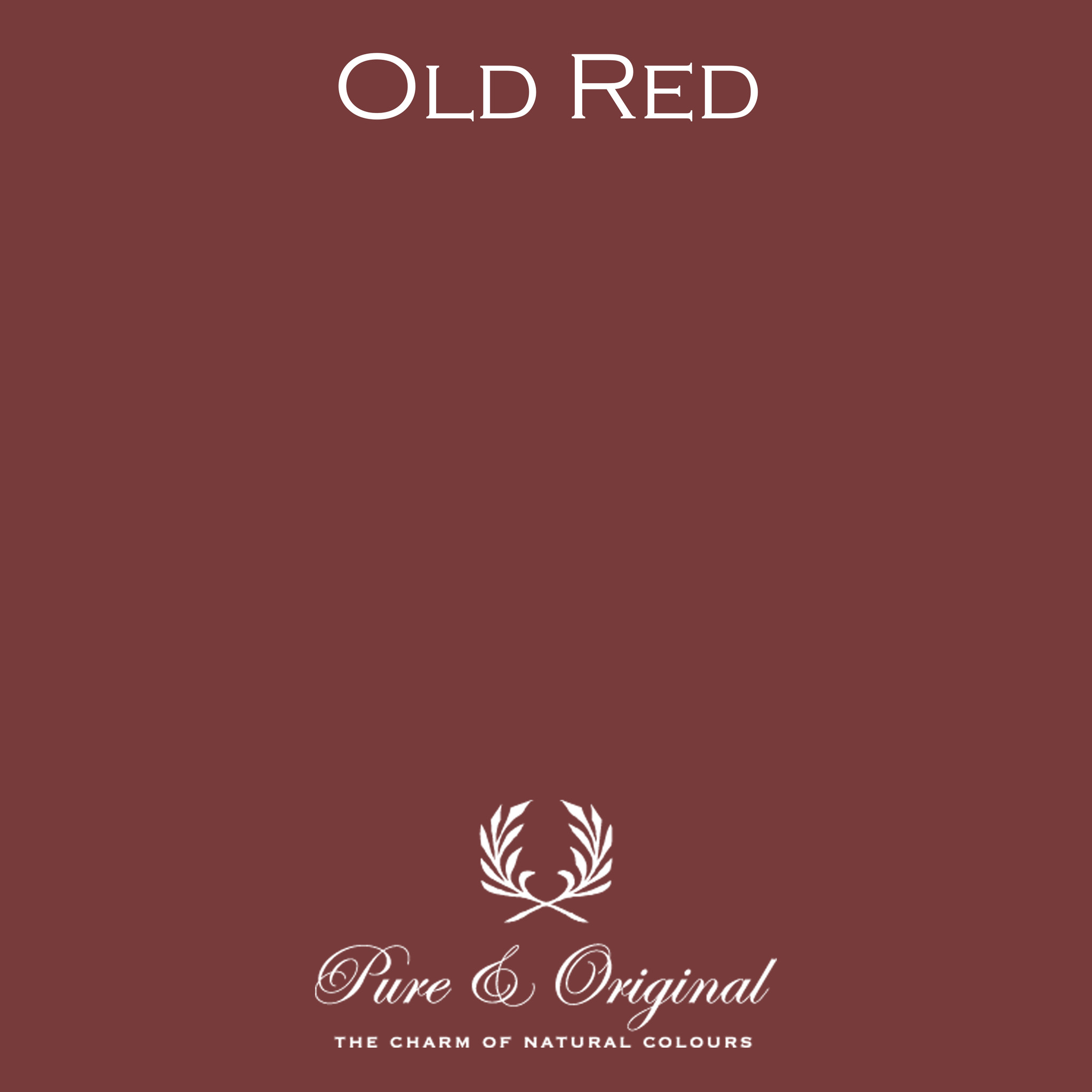 Traditional Paint Waterbased Old Red