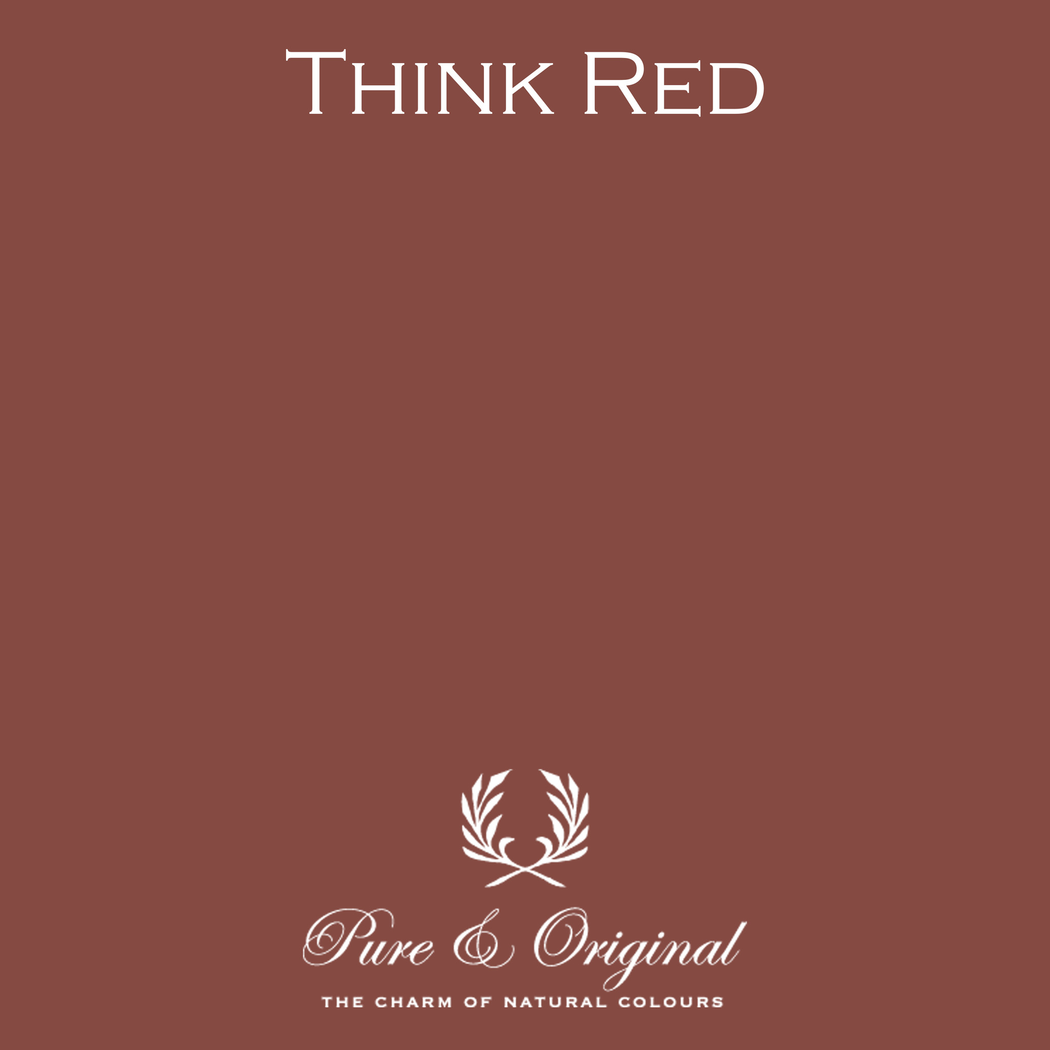 Traditional Paint Waterbased Think Red
