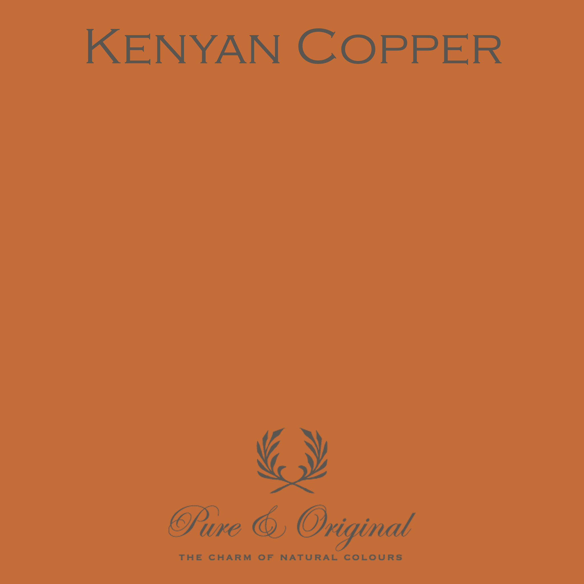 Traditional Paint Waterbased Kenyan Copper