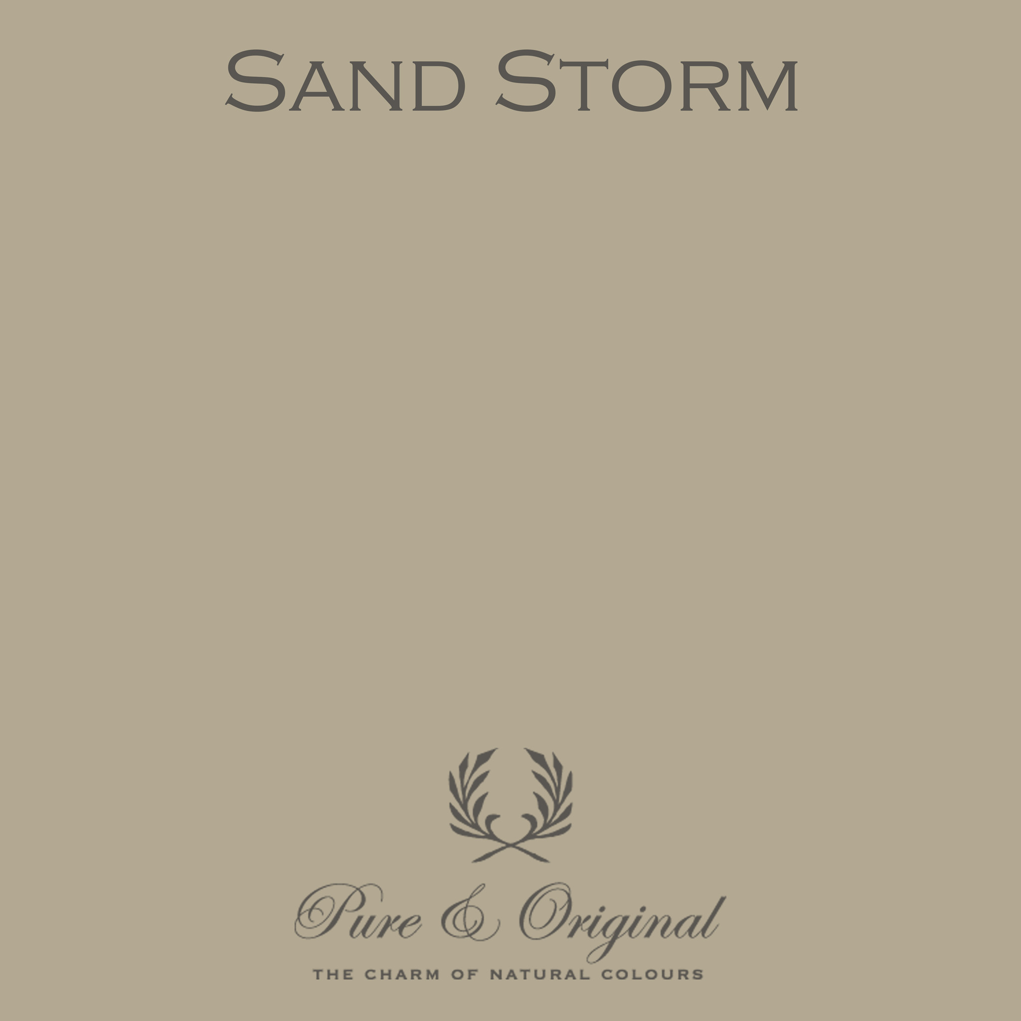 Traditional Paint Waterbased Sand Storm