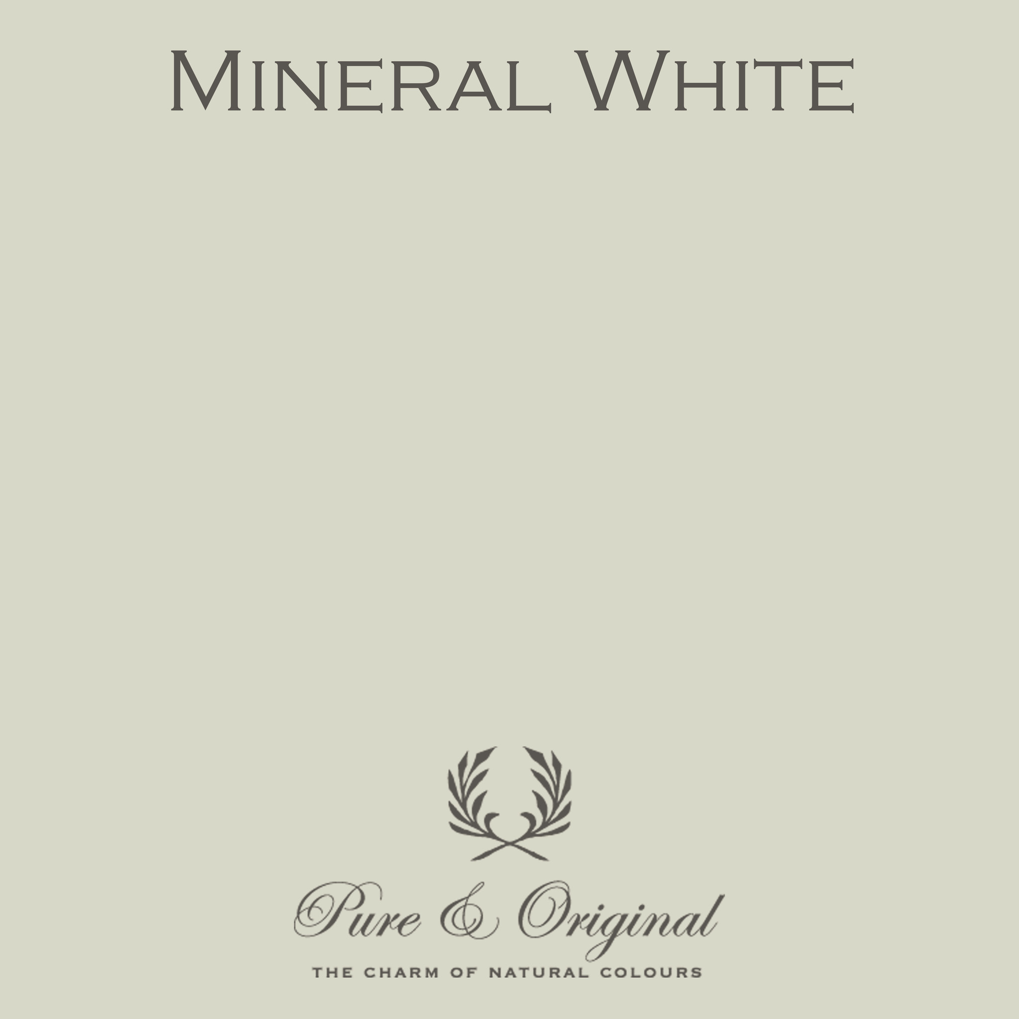 Traditional Paint Waterbased Mineral White