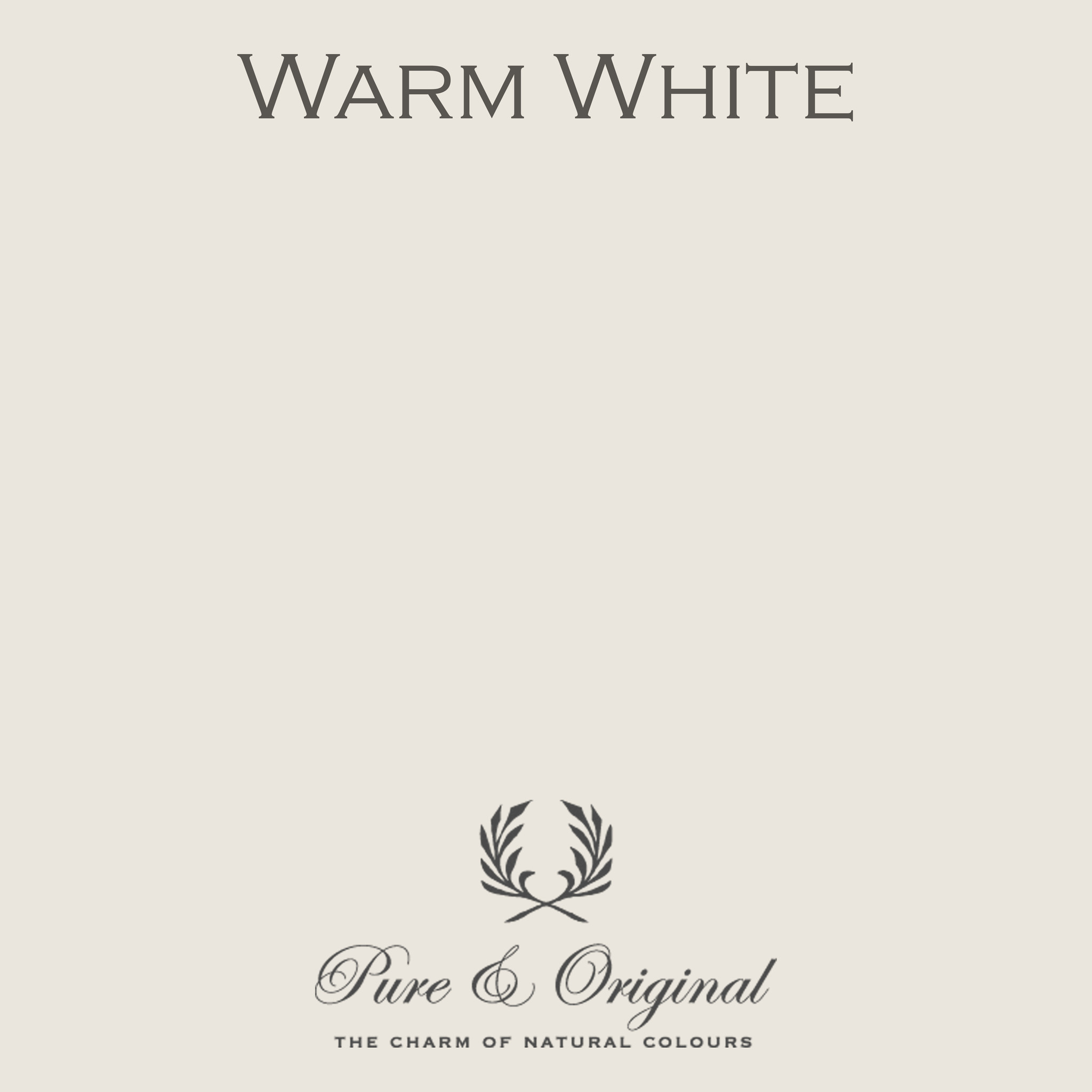 Traditional Paint Waterbased Warm White
