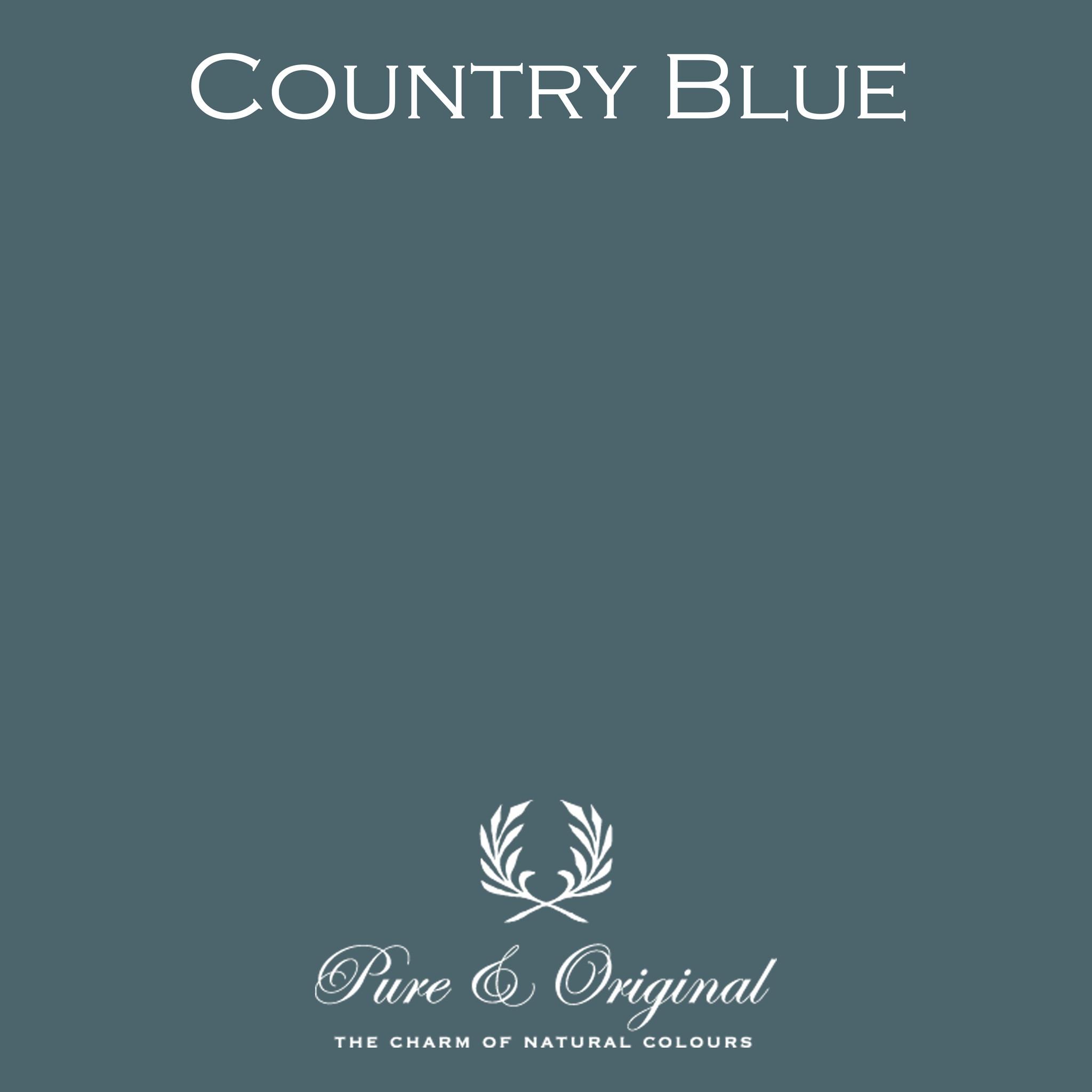 Pure & Original Country Blue   mat of ultramatte lak